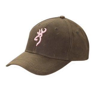 Browning Brown and Pink Dura-Wax Cap