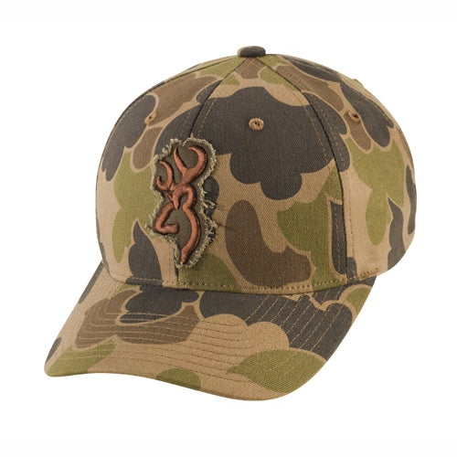 Browning Flashback Camo Bubble Cap