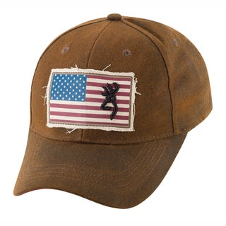Browning Liberty Dark Brown Wax Cap