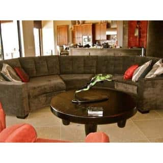 Large Rounded Sectional Sofa