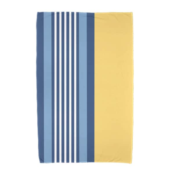 30 x 60-inch, Beach Shack, Stripe Print Beach Towel