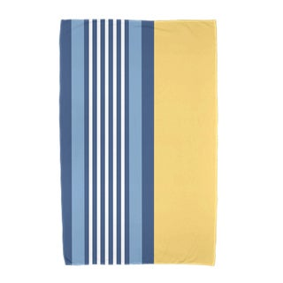 30 x 60-inch, Beach Shack, Stripe Print Beach Towel
