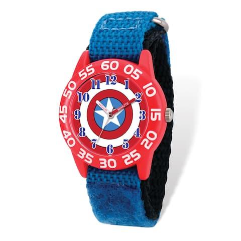 Marvel Kids Captain America Time Teacher Watch