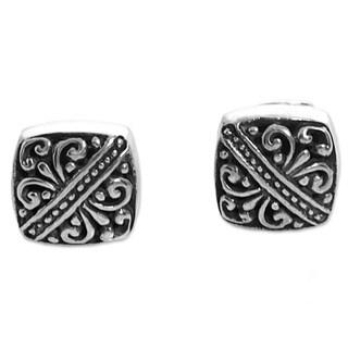 Handmade Sterling Silver 'Bali Beauties' Earrings (Indonesia)