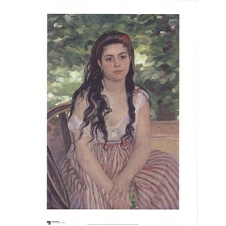 Pierre-Auguste Renoir 'Im Sommer' Offset Lithograph Poster, 31.5 x 23.5 inches
