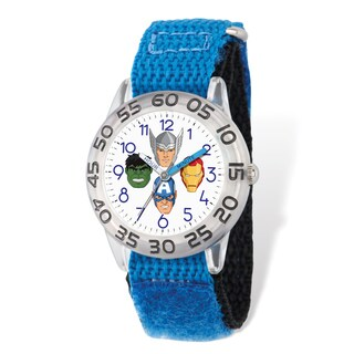 Marvel Kids Avengers Time Teacher Watch