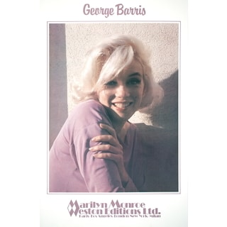 George Barris 'Marilyn Monroe- Always Yours' 1982 Offset Lithograph Wall Art, 34.75 x 22.75 inches