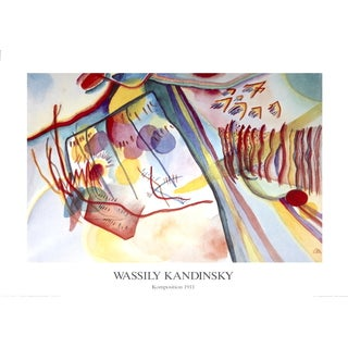 Wassily Kandinsky 'Komposition' 1991 Lithograph Poster, 23.5 x 31.5 inches
