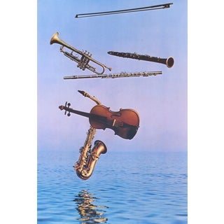 Harvey Edwards 'Music on High' Poster, 36.5 x 24.5 inches