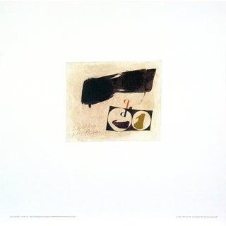 Julius Bissier '6-Apr-60' Offset Lithograph Wall Art, 20 x 20 inches