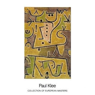 """Paul Klee """"Rote Weste"""" Lithograph Poster (35.5 x 27.5)"""