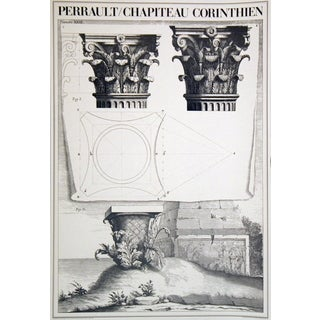 Charles Perrault 'Chapiteau Corinthien' Offset Lithograph Poster, 33 x 23.5 inches