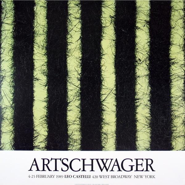 Richard Artschwager 'At Castelli's' Offset Lithograph Wall Art, 26.5 x 26.5 inches
