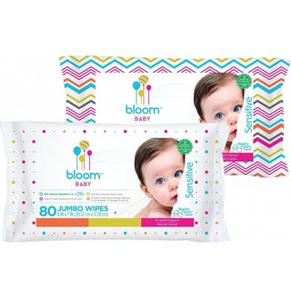 Bloom Baby Sensitive 80-count Baby Wipes