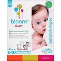 Bloom Baby Sensitive Baby Wipes (640 Count)