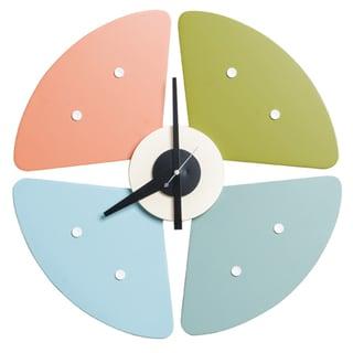 MLF Wood Petal Clock