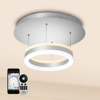 Europa VHP26510AL WiFi-enabled Tunable White Color-changing Integrated LED 11-inch Pendant from Vision by VONN Series