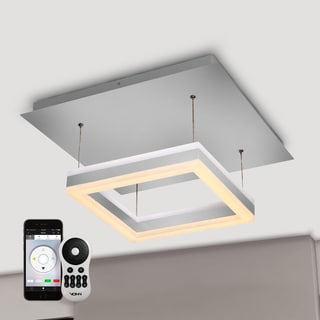Vision by VONN Series Callisto WiFi-Enabled Tunable White Color-changing LED 11-inch Pendant Light