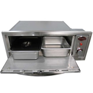 Cal Flame Oven 110V, 2 In 1 (Includes Pizza Brick, Two Ss With Cover Serving Pan And Rack)