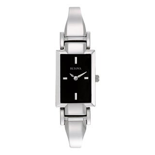 Bulova Women's 96L138 Silver Stainless Steel Water-resistant Watch
