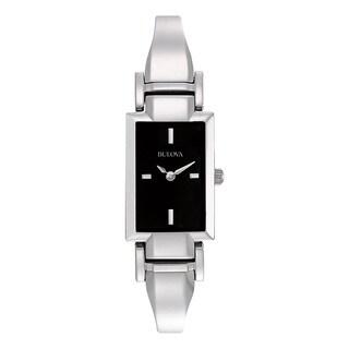 Bulova Women's 96L138 Silver Stainless Steel Water-resistant Watch