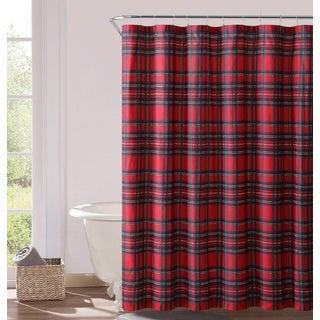 VCNY Home Tartan Plaid Shower Curtain