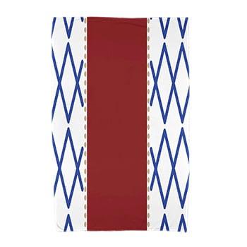 30 x 60-inch, Knot Fancy, Geometric Print Beach Towel