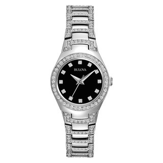 Bulova Women's 96L170 Silver Stainless Steel Water Resistant Watch|https://ak1.ostkcdn.com/images/products/13861919/P20502749.jpg?_ostk_perf_=percv&impolicy=medium