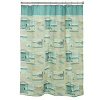 Beach Cruiser Shower Curtain
