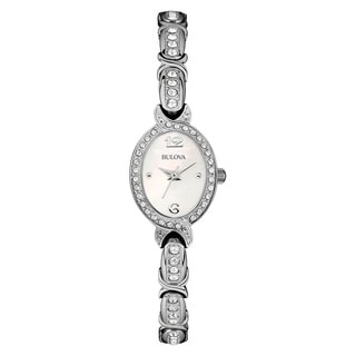 Bulova Women's 96L199 Silver Stainless Steel Water-resistant Watch
