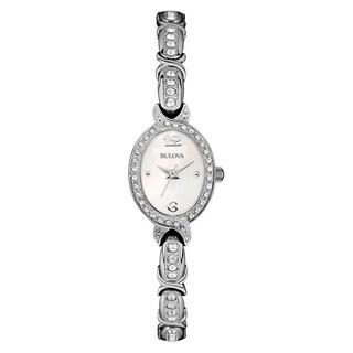 Bulova Women's 96L199 Silver Stainless Steel Water-resistant Watch