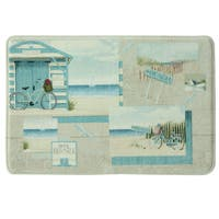 Beach Cruiser Memory Foam Bath Rug