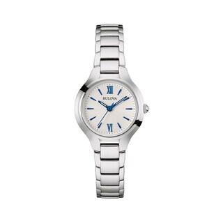 Bulova Women's 96L215 Stainless Steel Silver Water Resistant Watch