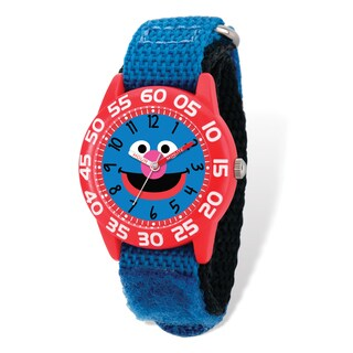 Sesame Street Kids Grover Time Teacher Watch