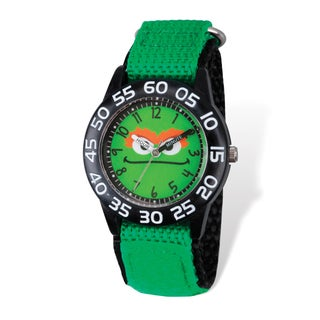 Sesame Street Kids Oscar the Grouch Time Teacher Watch