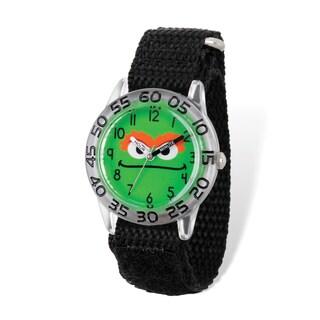 Sesame Street Kids 'Oscar the Grouch' Time Teacher Watch