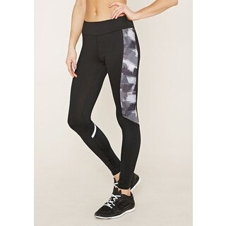RAG Women's Black Active Leggings