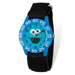Sesame Street Kids Cookie Monster Time Teacher Watch