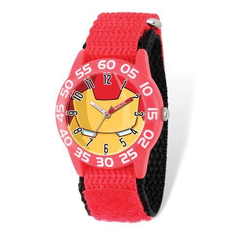 Marvel Kids Iron Man Time Teacher Watch