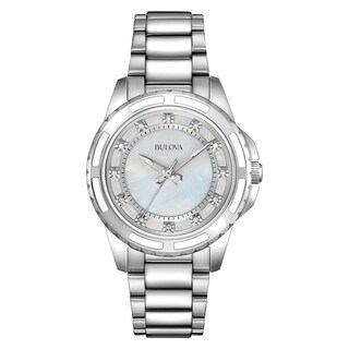 Bulova Women's 96P144 Silver Stainless Steel Water-resistant Watch|https://ak1.ostkcdn.com/images/products/13862083/P20503143.jpg?_ostk_perf_=percv&impolicy=medium