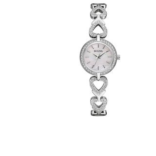 Bulova Women's Stainless Steel Silver Water Resistant Watch