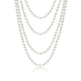 Pearlyta Shell Pearl 64-inch Endless Necklace