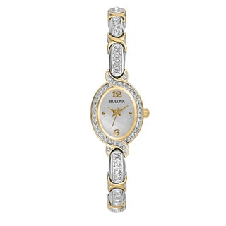 Bulova Women's 98L005 2-tone Stainless Steel Water-resistant Watch