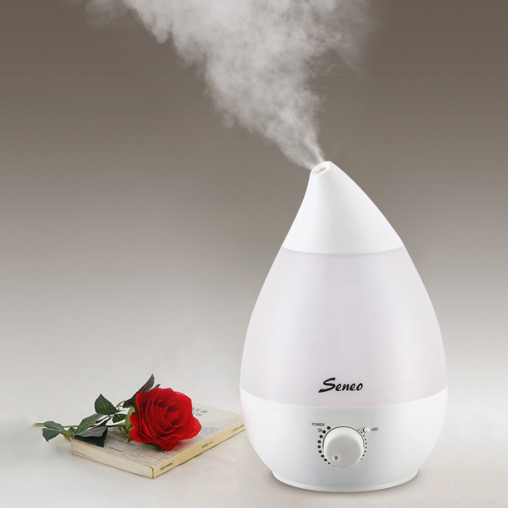Coutlet Ultrasonic Aromatherapy Humidifier with 1.3L Wate...