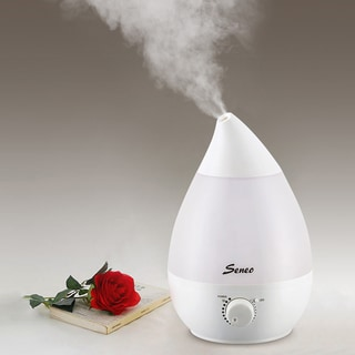 Ultrasonic Aromatherapy Humidifier with 1.3L Water Capacity Essential Oil Diffuser Function and Waterless Auto Shut-Off Function