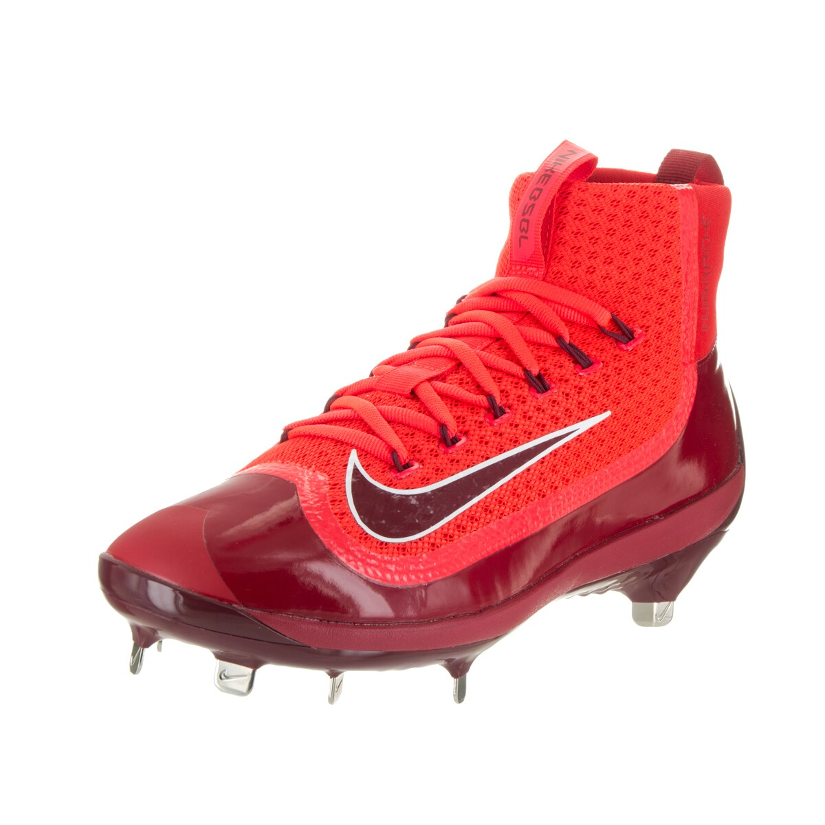 Nike Men's Air Huarache 2KFilth Elite Mid Red Baseball Cl...