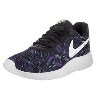 Nike Women's Tanjun Purple Textile Print Running Shoes
