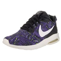 Nike Women's Air Max Motion Purple Textile Running Shoe