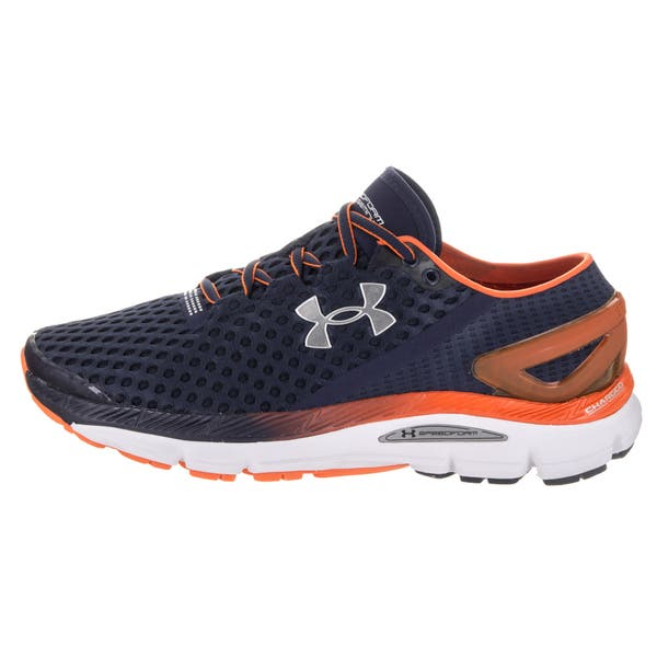 sagrado Girar Marchito  Under Armour Men's UA Speedform Gemini 2 Blue Running Shoes - Overstock -  13862893