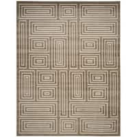 Safavieh Amherst Indoor/ Outdoor Wheat/ Beige Rug - 8' x 10'